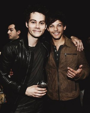 Dylan and Louis Tomlinson