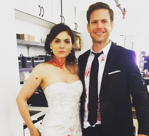 Jodi Lyn O'Keefe and Matt Davis