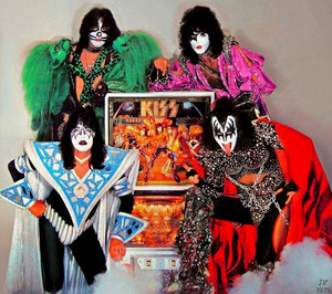 Kiss ~Bally Kiss Pinball Machine 1979