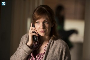 Katherine Parkinson as Laura Hawkins in Humans