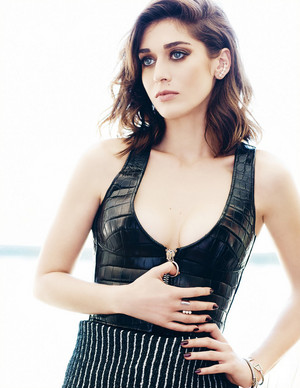 Lizzy Caplan in Elle Canada - November 2014
