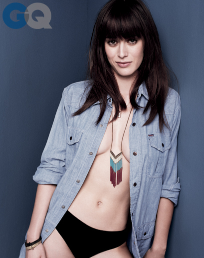 Lizzy Caplan in GQ - October 2013