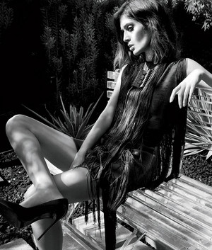Lizzy Caplan in LA Confidential - September 2014