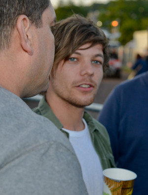 Louis at Glastonbury Festival