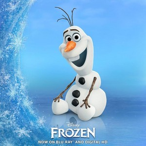 Olaf the Happy Snowman