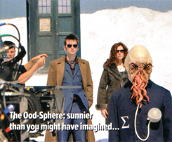 Planet of the Ood - BTS