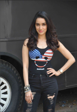 Shraddha Kapoor at ABCD2 promotion
