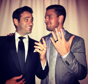 Stephen Amell and Colin Donnell