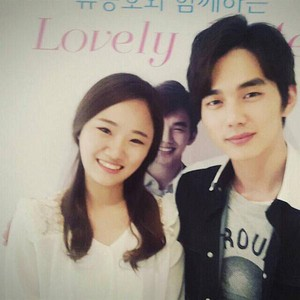 Yoo Seung Ho Lovely تاریخ for Lotte Department Store