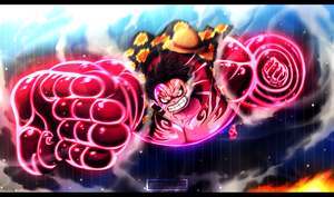 *Luffy Gear 4 : Gomu Gomu No Culverin*