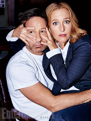'X-Files' returns: New EW exclusive foto's