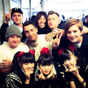 Bring Me The Horizon and Babymetal at Kerrang Awards 2015