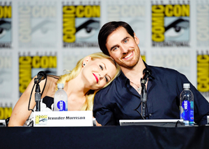 Colin O'Donoghue and Jennifer Morrison | OUAT's panel at SDCC 2015