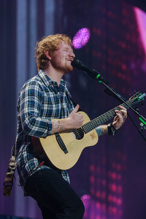 Ed at Wembley