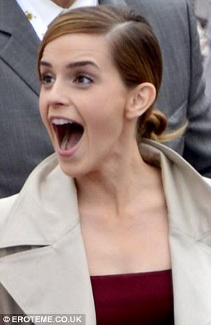 Mouth emma watson Emma Watson