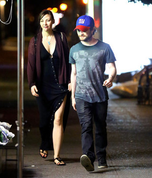 Exclusive: Daniel Radcliffe And Erin Darke Spotted Together (Fb.com/DanieljacobRadcliffeFanClub)