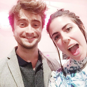 Exclusive: Daniel Radcliffe at NYLON Magazine Office (Fb.com/DanielJacobRadcliffeFanClub)