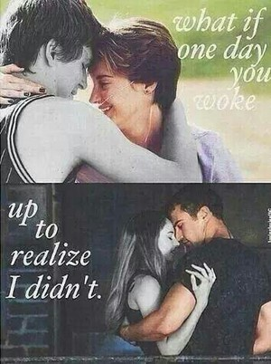 Hazel and Gus / Tris and Four