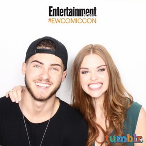 Holland's Photoshoot for Comic Con Entertainment Weekly