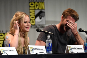Liam and Jennifer at Comic Con