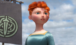 Merida with short hair