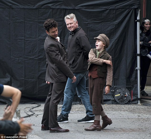 Michael Weston's first look in 'Houdini