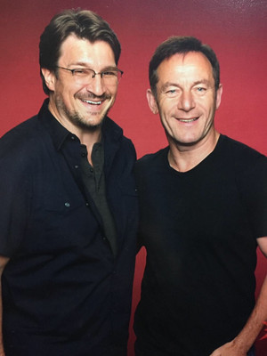 Nathan and Jason Isaacs(June,2015)