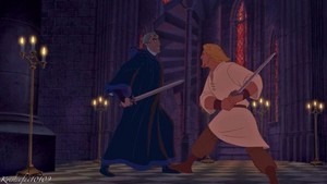 Phoebus Fights Frollo