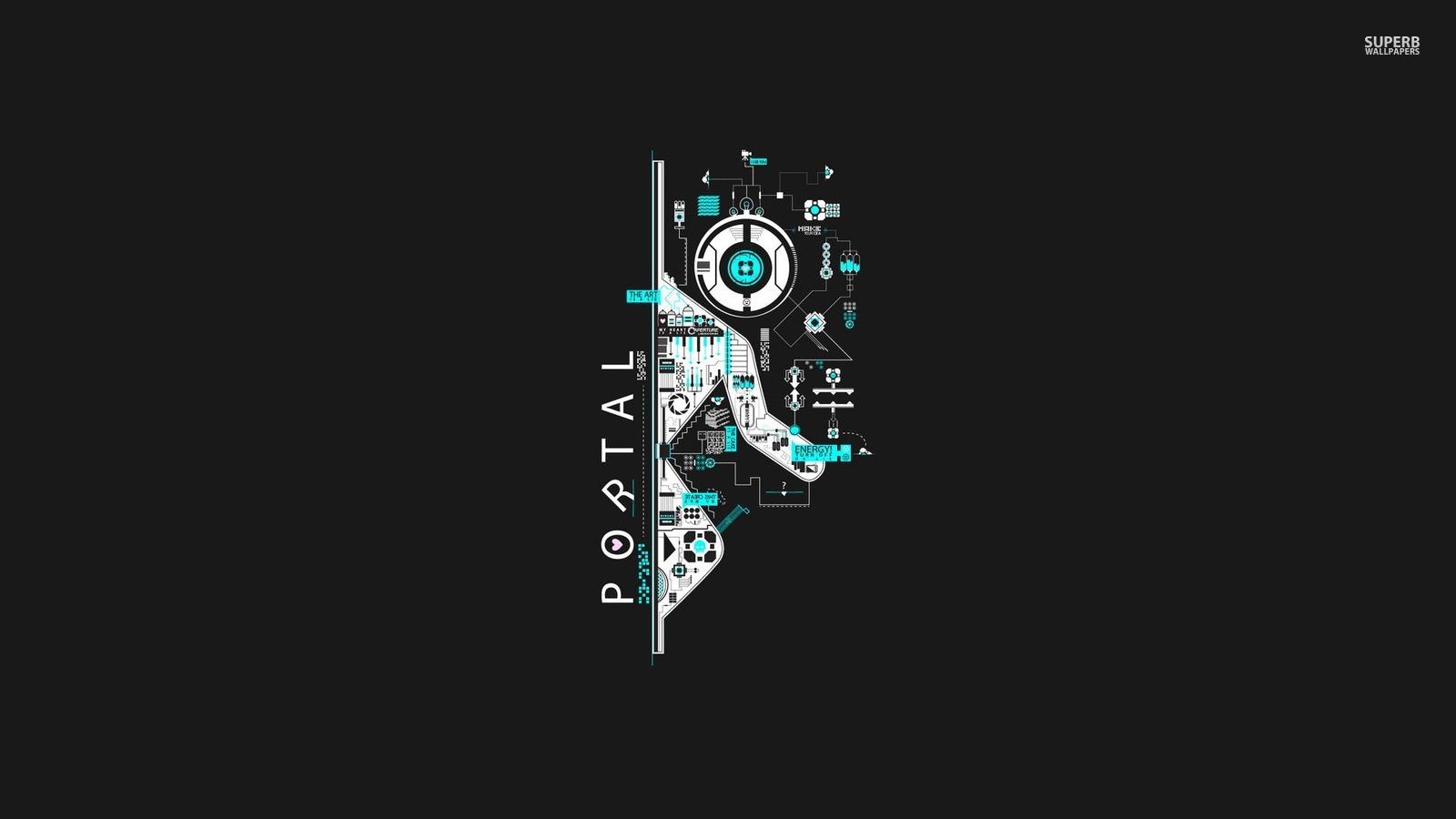 Portal Portal The Game Wallpaper 38672956 Fanpop