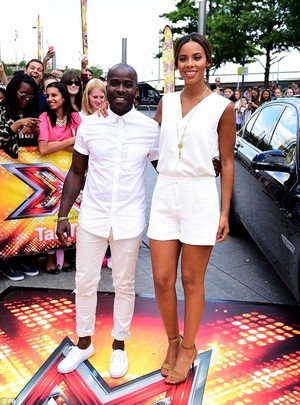 Rochelle in Wembley for the X Factor auditions