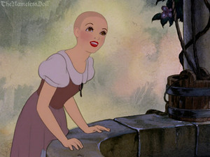 Snow White with no hair