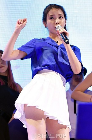 150731 IU at Hite Jinro beach, pwani tamasha (News Photos)
