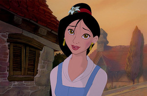 Belle With Mulan's Hair