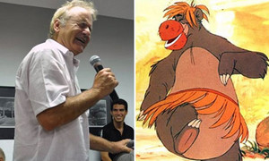 Bill Murray and Baloo