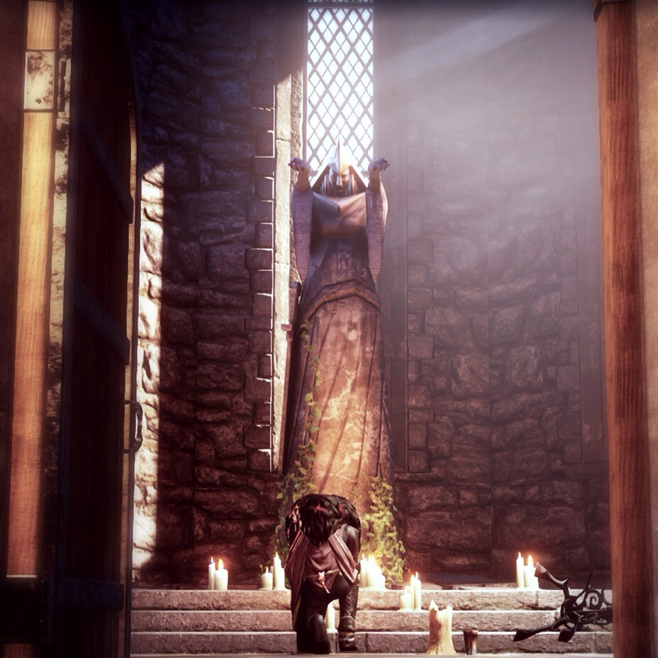 Cullen Praying Dragon Age Inquisition Cullen Rutherford Photo