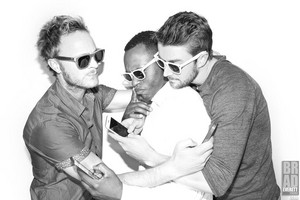 David Anders, Robert Buckley and Malcolm Goodwin ❤