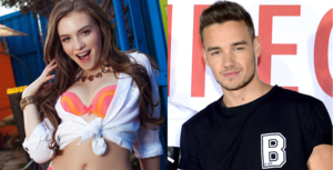 Liam Payne and Mandy Kay
