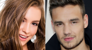 Mandy Kay and Liam Payne Face