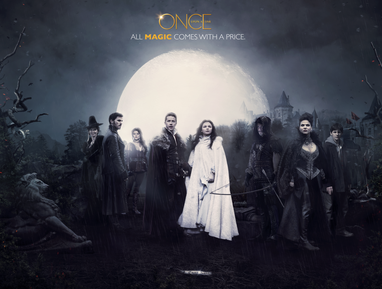 Ouat Once Upon A Time Wallpaper 38745679 Fanpop