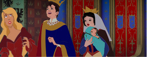 Queen Snow White and her family