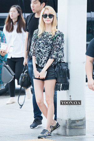 SNSD YOONA AIRPORT 150725