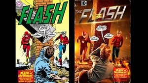 The Flash - Season 2 - First Look at chim giẻ cùi, jay Garrick and Patty Spivot