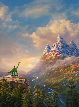 The Good Dinosaur teaser image