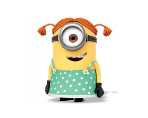 despicable me stuart girl minion characters 1467974807