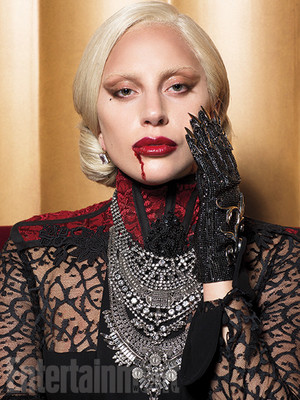 """American Horror Story: Hotel"" The Countess portrait"