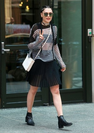 Jessie J Steps out NY City