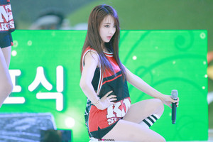 150905 Nine Muses Kyungri | Suncheon Country Garden 音乐会