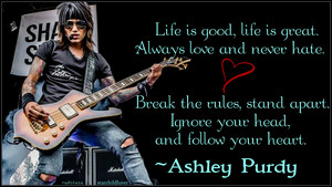 Ashley Purdy Quote