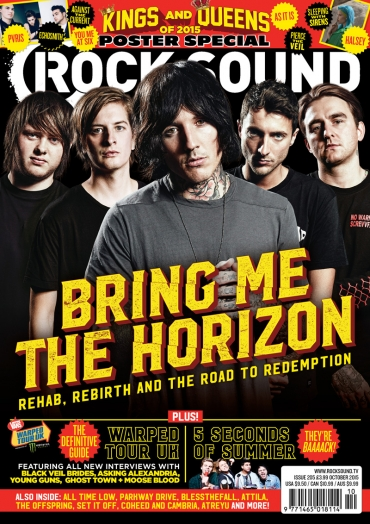 Bring Me The Horizon cover on Rocksound