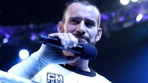 Cm punk with microphone